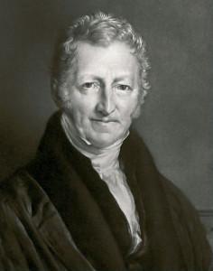 British philosopher Thomas R. Malthus (1766-1834).