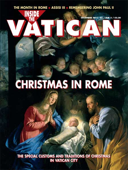 2011 December Issue Inside the Vatican magazine