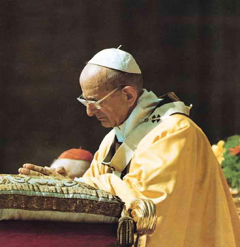 Image result for paul VI praying