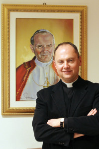 Msgr. Sławomir Oder, postulator of Blessed John Paul II's canonization cause (Galazka photo)