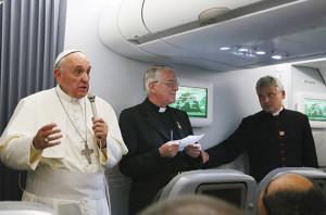 Msgr. Konrad Krajewski during Pope Francis' Apostolic Journey to Rio de Janeiro (Brazil) on the occasion of the 28th World Youth Day (22-29 July 2013).