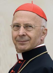 Italian Cardinal Angelo Bagnasco.
