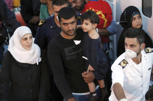 More than 2 million refugees have fled Syria's civil war, with some landing in Italy.