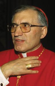 Spanish Cardinal Antonio Rouco Varela.