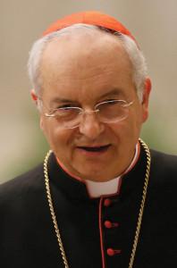 Italian Cardinal Mauro Piacenza.