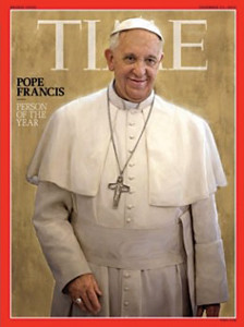 TIME; the cover of the December 2013 issue.