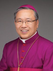 Andrew Yeom Soo-jung. Archbishop of Seoul.