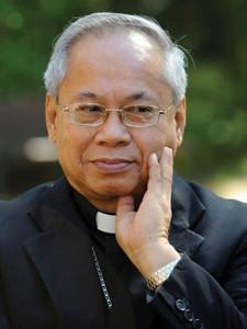 Orlando B. Quevedo. Archbishop of Cotabato.