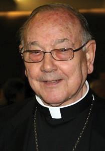 Fernando Sebastián Aguilar. Archbishop of Pamplona.