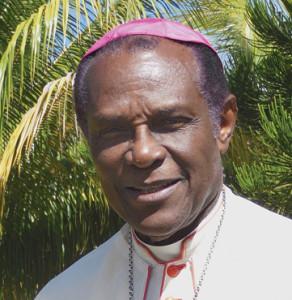 Kelvin Edward Felix. Archbishop Emeritus of Castries, Saint Lucia.
