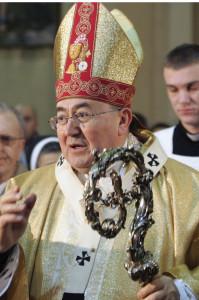 Cardinal Vinko Puljic of Sarajevo, Bosnia-Herzegovina.