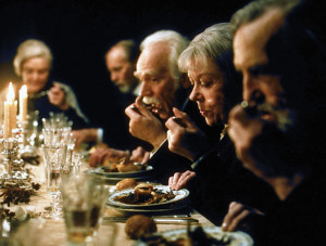 A scene from the film Babette's Feast.