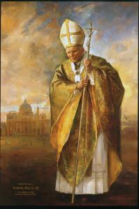 Portrait of John Paul II.