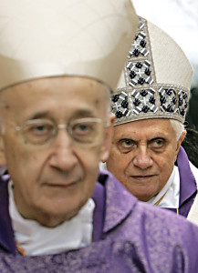 The Medjuogroje Commission was initiated by Pope Benedict XVI almost four years ago, on March 17, 2010. He entrusted the work to Cardinal Camilio Ruini (in the foreground).