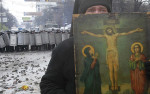 In Ukraine, what started as demonstrations have quickly evolved in violent confrontations.