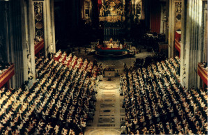 An image from the Second Vatican Council (1962-65).