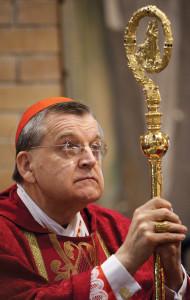 Cardinal Raymond Burke.