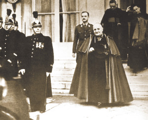 Angelo Roncalli as nuncio in France in the late 1940s.