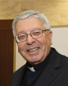 Father Giuseppe Costa, the Salesian priest who has rejuvenated the Vatican Press.
