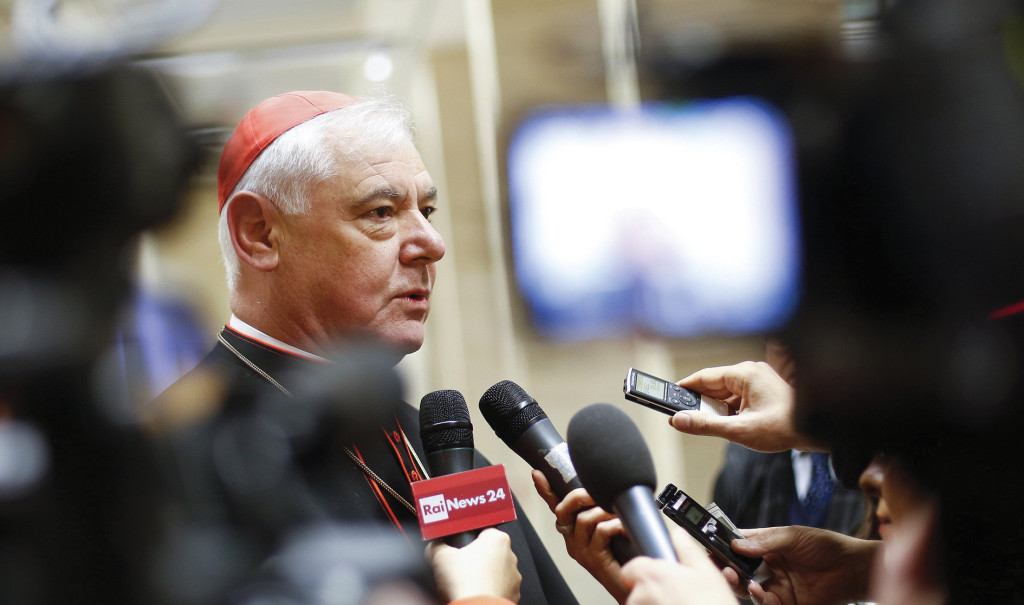 Cardinal Mueller, head of the Vatican's doctrinal office.