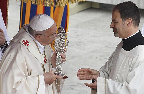 The Veneration of the Relics of St. John XXIII and St. John Paul II.