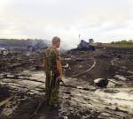 A battlefield in Ukraine.