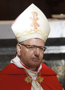 Chaldean Patriarch Louis Raphael I Sako of Babylon.