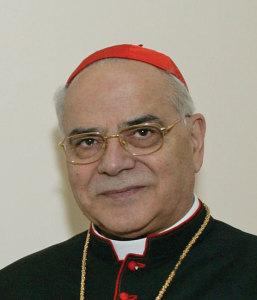 Cardinal Saraiva Martins.