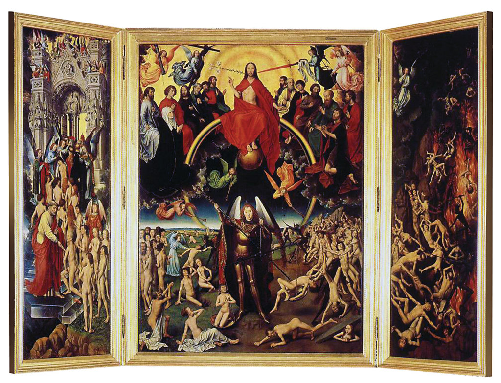 The Last Judgement, Memling's masterpiece still waiting to go to Italy.