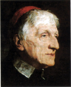 Blessed John Henry Newman, another of Davies's heroes.