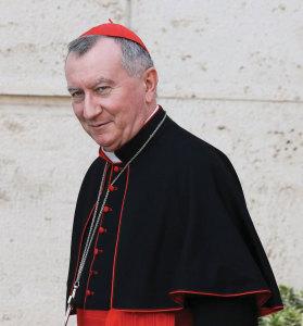 Cardinal Parolin.