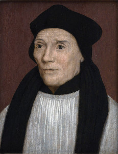 One of Davies's heroes, St. John Fisher.