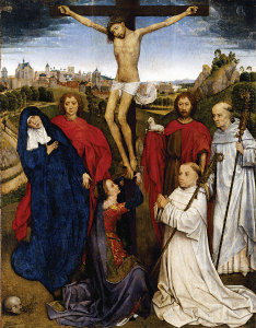 Triptych for Jan Crabbe, one of Memling's early works.