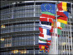 Flags of European Union member states.