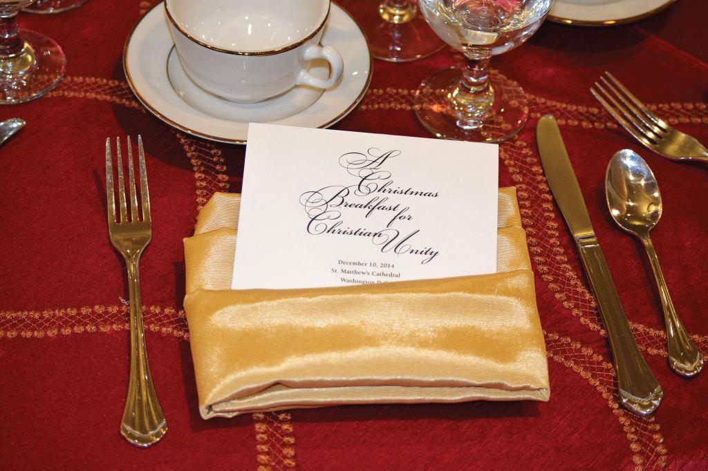 A Christmas Breakfast for Christian Unity.