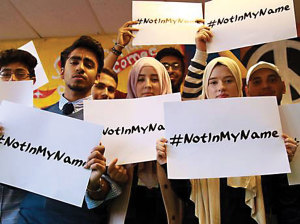 Young muslims are taking a stand against violence in the name of Islam by launching a social media campaign to show that hate and violence do not represent their religion.
