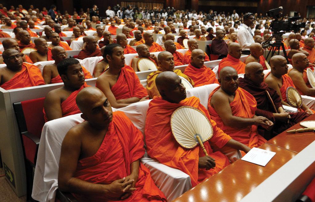 Interreligious meeting in Sri Lanka.