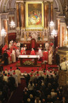 Holy Mass celebrated by Pope Francis at the Catholic Cathedral of the Holy Spirit on November 29.