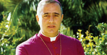 Archbishop Bruno Musaro.