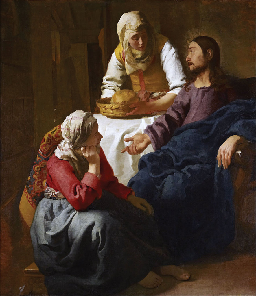 Christ in the House of Martha and Mary, by Jan Vermeer.