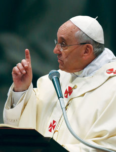 """""""Christians with pockets - very few"""" - From the Daily Homilies of Pope Francis"""