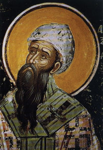 St Cyril I, the 24th Pope  of Alexandria