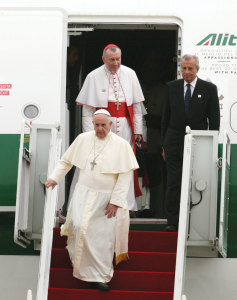Parolin also travels with the Pope on his pastoral journeys to other countries.