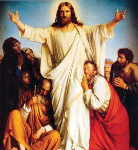 The Preaching Christ, by Carl Bloch.