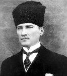 Mustafa Kemal Atatürk, president of Turkey from 1923 to 1938