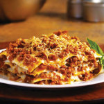 Lasagna is usualy the first course in a typical Italian Easter lunch.