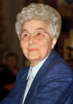 Chiara Lubich, founder of the Focolarini.