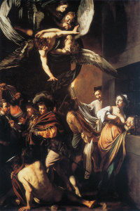 The Seven Works of Mercy (Italian title: Sette opere di misericordia), also known as The Seven Acts of Mercy, is an oil painting by the Italian artist Caravaggio