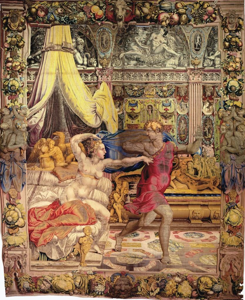 Joseph tells his  Below, Joseph fleeing the advances of Potiphar's wife
