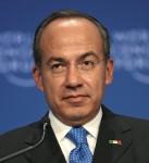 Former Mexican President Felipe Calderon